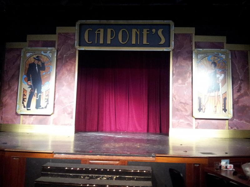 Capone's Dinner Theater Set