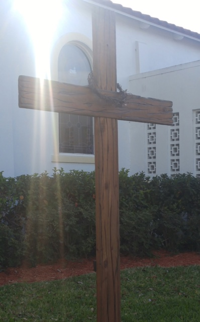 Easter Cross for Howey Community Church 2017